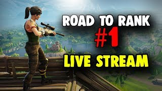 🔴FortNite : Battle Royale  ❗❗ Road to being the Best Player LIVESTREAM 🎮