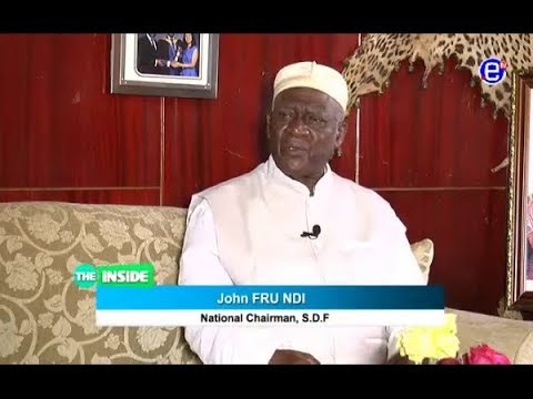 THE INSIDE 2018 (GUEST NI JOHN FRU NDI) EQUINOXE TV SUNDAY JANUARY 28th