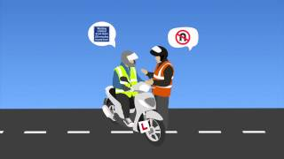 The Official DVSA Theory Test for Motorcyclists (book)