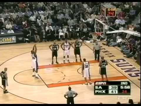 Spurs vs Suns 2005-01-21