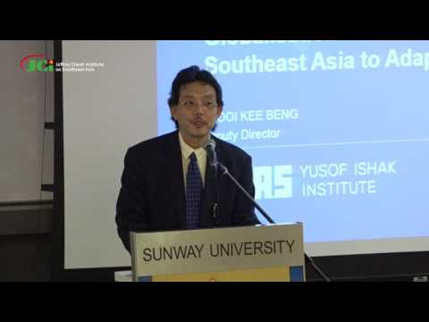 Globalisation Enters a New Phase: How Is Southeast Asia to Adapt?