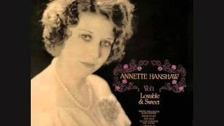 Annette Hanshaw (Patsy Young) - Button Up Your Overcoat (1929)