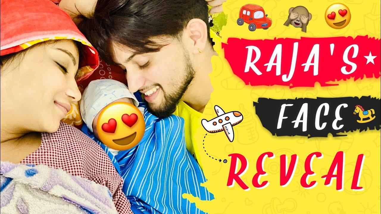 RAJA'S FACE REVEAL | Choudhary Family | Vivek Choudhary | Khushi Punjaban