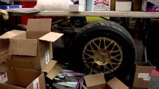 Rhys Millen's Pikes Peak Car Buildout