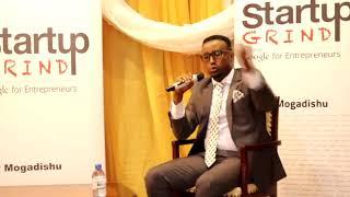 Startup Grind Mogadishu hosts Abdiaziz Adow (Ileys Energy)
