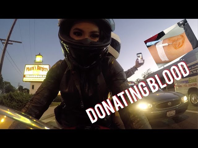 Riding to Donate Blood