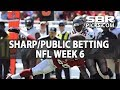 NFL Week 6 Into The Weekend With BetDSI Sharp And Public Betting mp3
