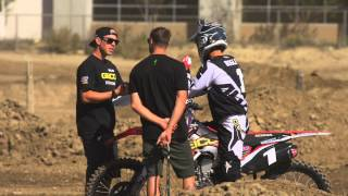 Austin White followed Justin Bogle around for the day before flying...
