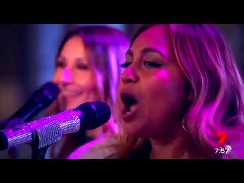Dauno Martinez on bass with Jessica Mauboy live channel 7,