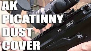 Video AK/AKM Picatinny Scope Mount Dust Cover Rail and Butt-Stock by FAB Defense download MP3, 3GP, MP4, WEBM, AVI, FLV Mei 2018