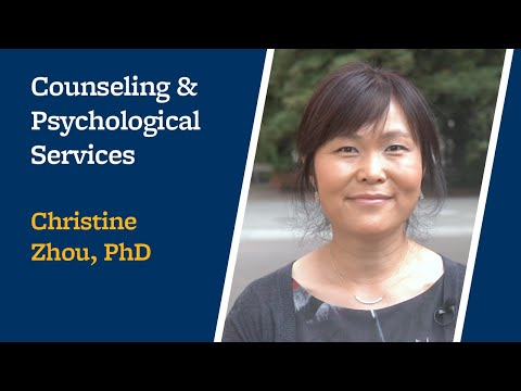 Meet your engineering counselor: Christine Zhou