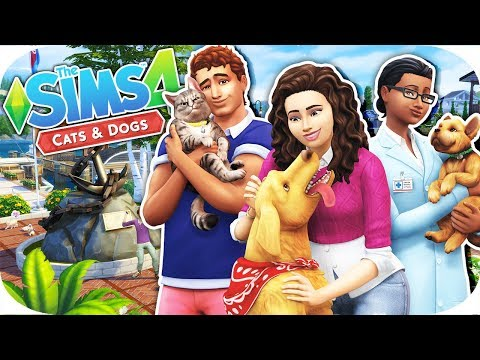THE SIMS 4 // CATS & DOGS TRAILER | REACTION/FIRST IMPRESSIONS + INFO AND CREATE A PET DETAILS