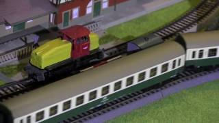 EPISODE 5: Model Trains - Locomotive - railwway construcions- Roco Trains, Märklin and more fun