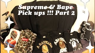 SUPREME AND BAPE PICKUPS WITH REMI PART 2 / YALL AIN