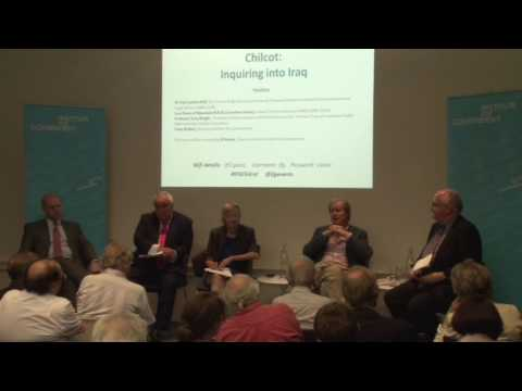 Initial Reflections on the Chilcot Inquiry : Professor Tony Wright