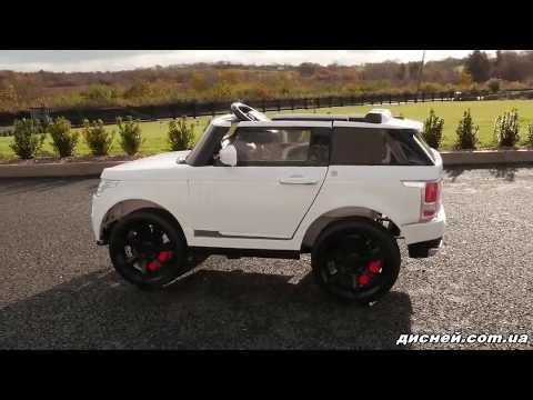 Детский электромобиль Джип M 3153 EBR-1 Land Rover, колеса EVA - дисней.com.ua