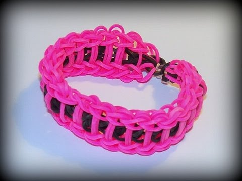 Loom Bands mit Rainbow Loom - Doppeltes Leiter Armband (deut