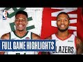 BUCKS at TRAIL BLAZERS | FULL GAME HIGHLIGHTS | January 11, 2020