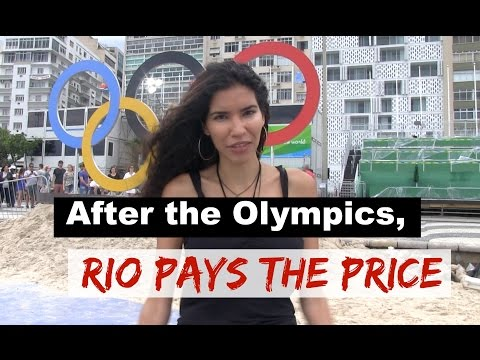 After the Olympics, Rio pays the price