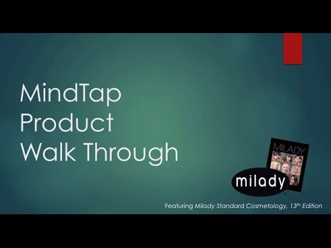 MindTap for Milady Standard Cosmetology