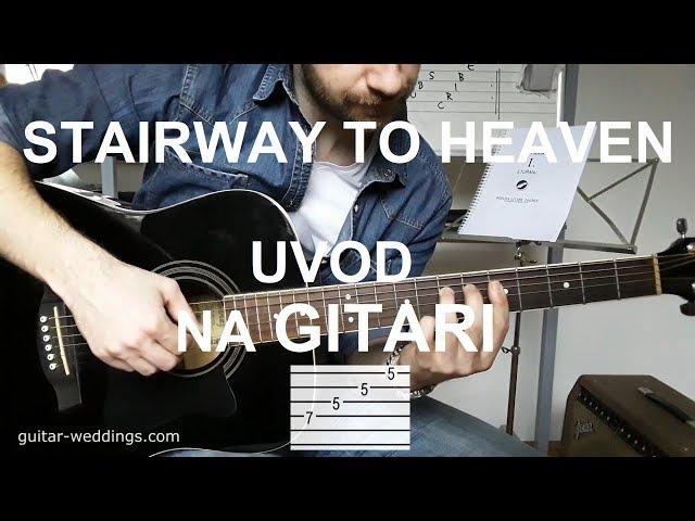Stairway To Heaven - lekcija na GITARI