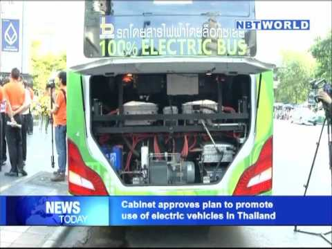 Cabinet approves plan to promote use of electric vehicles in Thailand