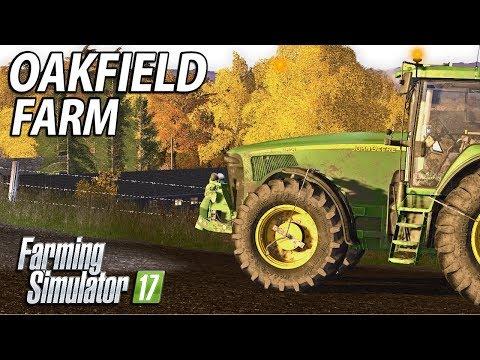 FINAL JOBS BEFORE WINTER   Farming Simulator 17   Oakfield Farm - Episode 25