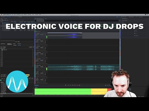 Electronic Voice for DJ Drops