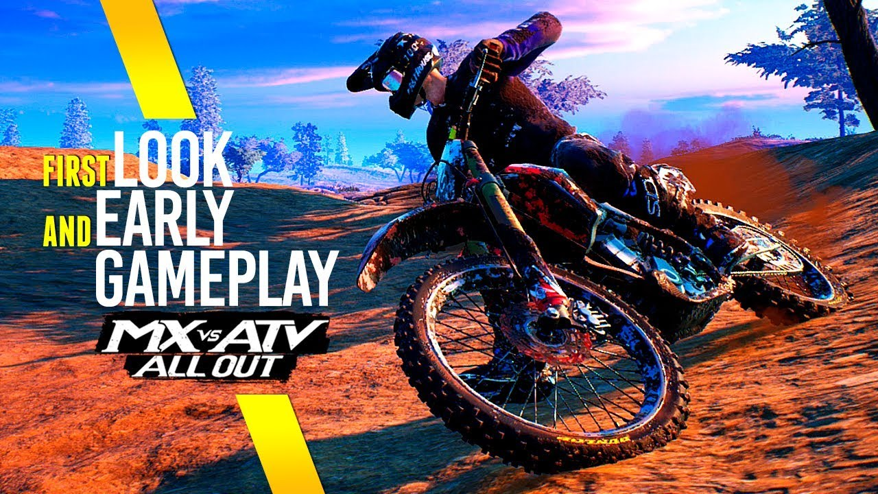 mx vs atv all out first look early access gameplay. Black Bedroom Furniture Sets. Home Design Ideas