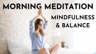 Guided Meditation ☀️ Best Morning Mindfulness Practice to Start Fresh ☀️ No need to leave the bed.