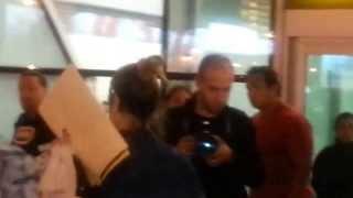 Llegada del elenco de Violetta a Lima, Perú | 6/11/13 00:00hs.