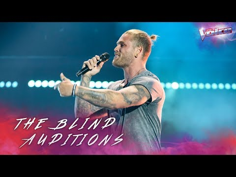 Blind Audition: Tim Karkowski sings Coming Home   The Voice Australia 2018