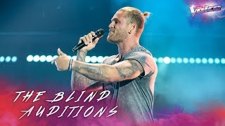 Blind Audition: Tim Karkowski sings Coming Home | The Voice Australia 2018