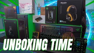 Tech Unboxing Time - So Much Razer & RGB