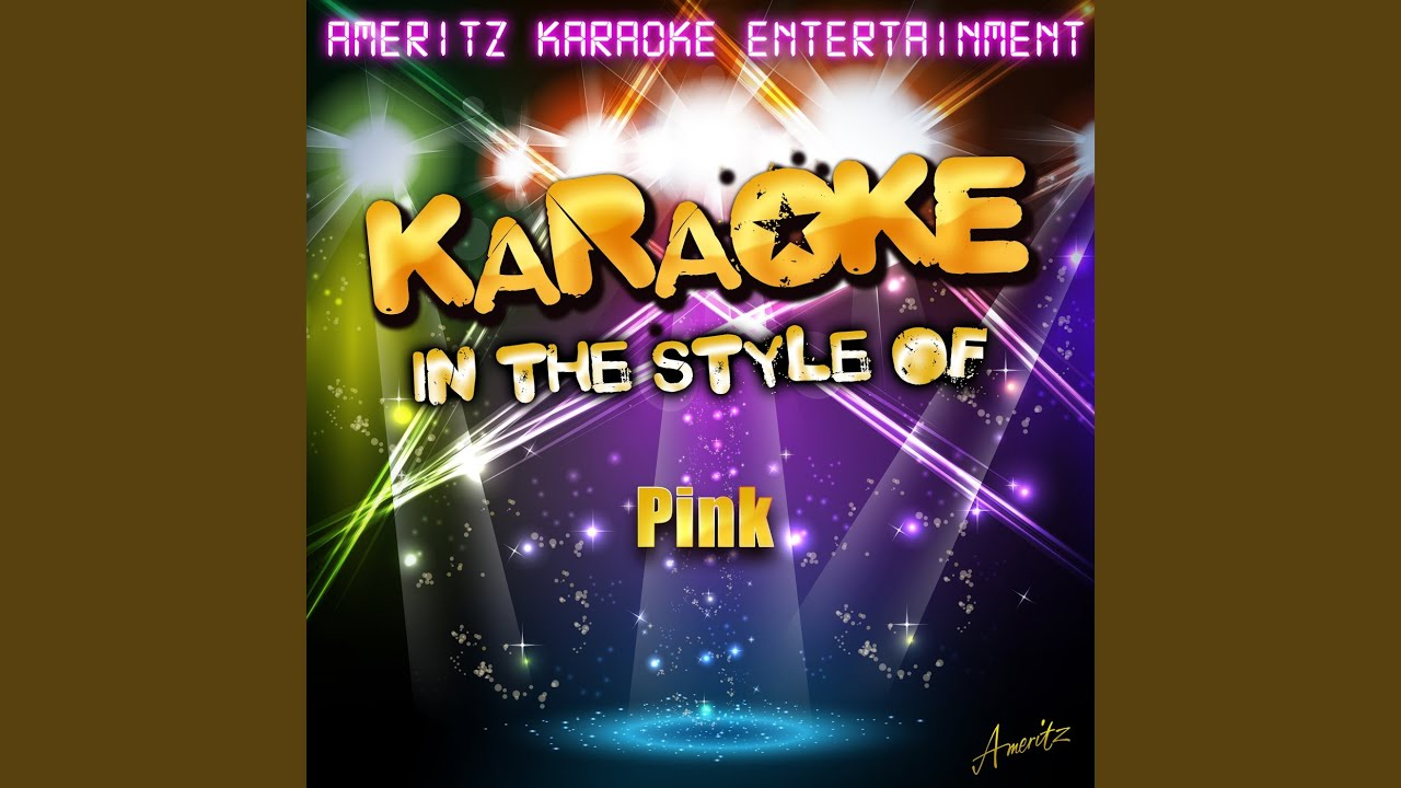 Download Glitter in the Air (In the Style of Pink) (Karaoke Version)