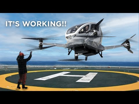 First Working Passenger Drone!