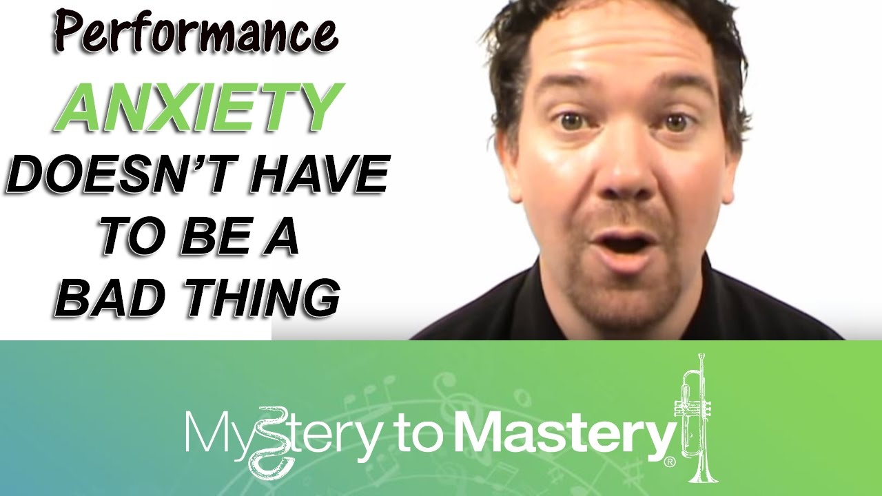 how to fix performance anxiety