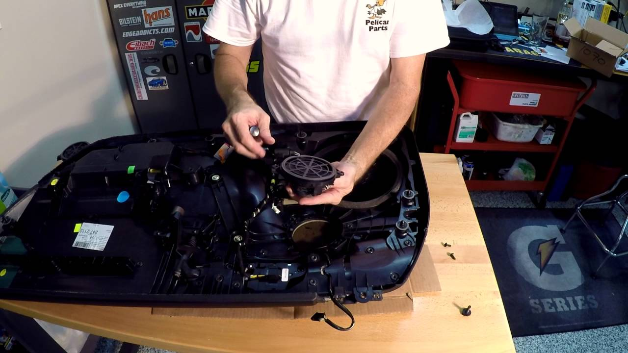 How to Remove and Replace a Porsche 997 Door Panel and Replace Door Speakers  YouTube