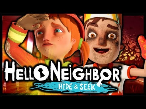 Hello Neighbor Hide And Seek Stage 3 Walkthrough Pc Full Game City On Fire