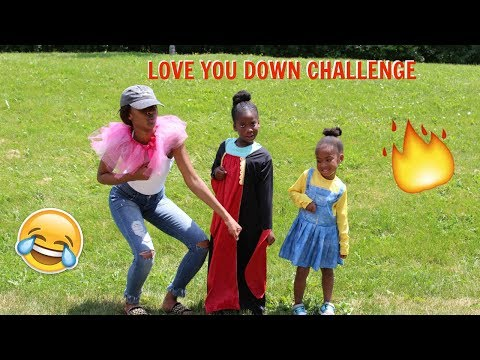 LOVE YOU DOWN CHALLENGE ...