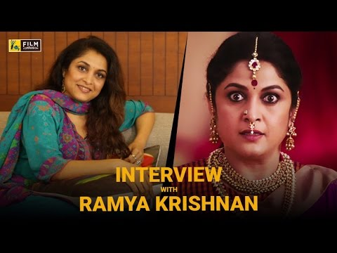 Ramya Krishnan Interview with Baradwaj Rangan | Baahubali 2: