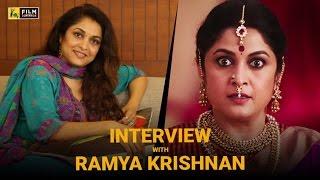 Ramya Krishnan Interview with Baradwaj Rangan   Baahubali 2: The Conclusion