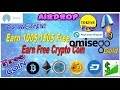 Live Genuine Airdrop earn More than 150$, free crypto coin- btc,eth,xrp,doge,dash and Nova