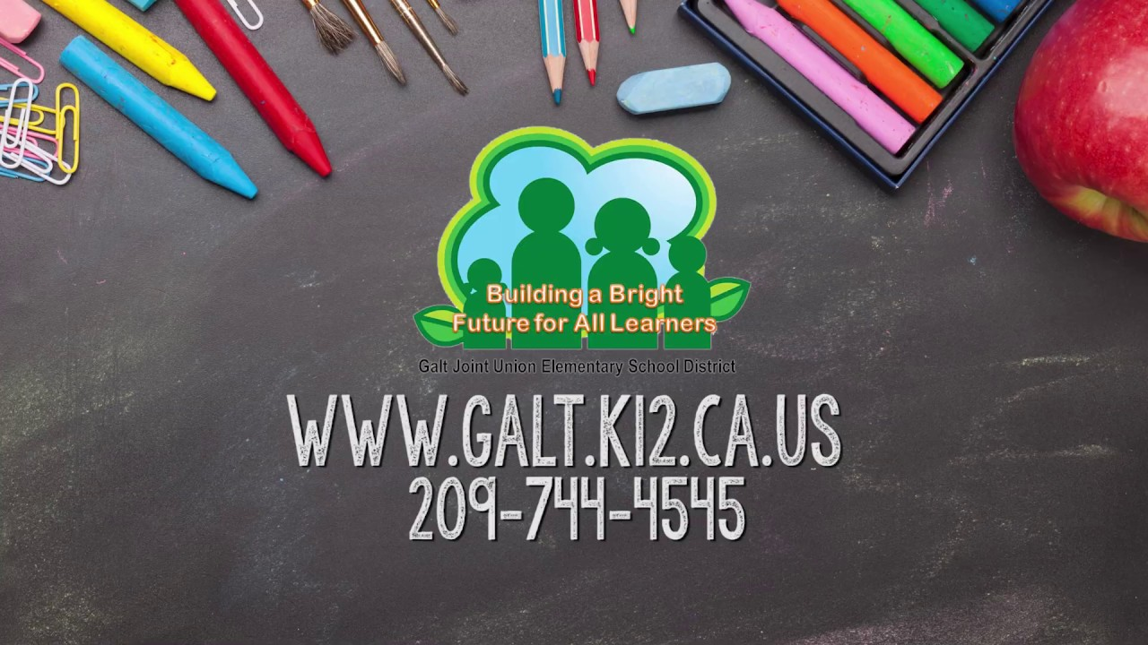 Galt JUESD Kindergarten Registration 2020