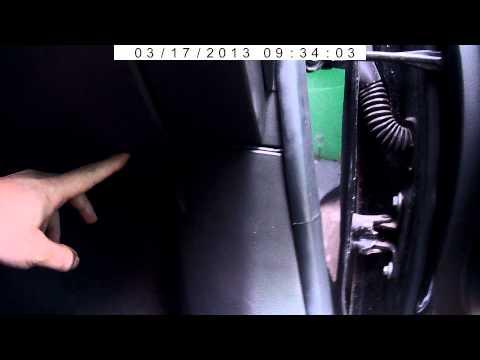 Прокладка провода на видео регистратор Chevrolet Cruz