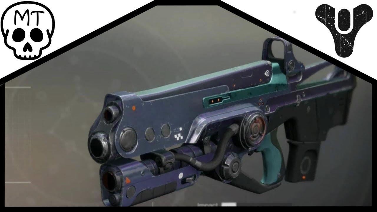 Hard Light Exotic Auto Rifle Review Destiny 2