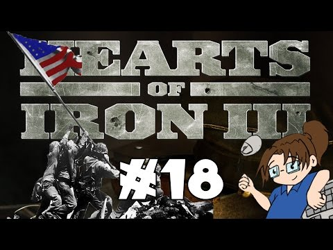 Hearts of Iron 3 - United States of America - Ep 18 [Pacific Island Hops]