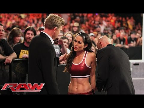 Brie Bella is arrested: Raw, Aug. 11, 2014