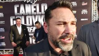 Canelo-GGG red carpet special. Someone is getting knockout!!!