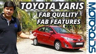Toyota Yaris 1.5 Petrol India Review - New Quality and Features Benchmark for the Segment